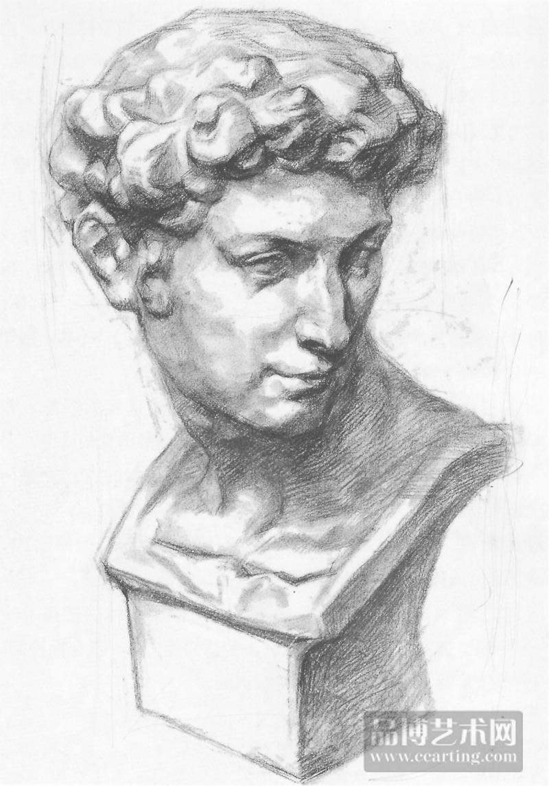 首页 美术教育  高考图库  素描 > 优秀石膏素描欣赏——小卫