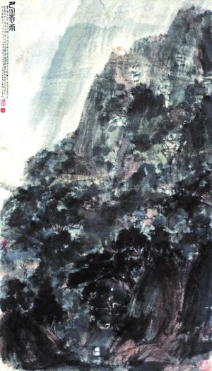 """傅抱石曾对学生说:""""当画家深入到生活里,面对着日新月异,气象万千的图片"""